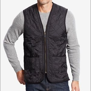 BARELY WORN Barbour Men's Quilted Vest w pockets